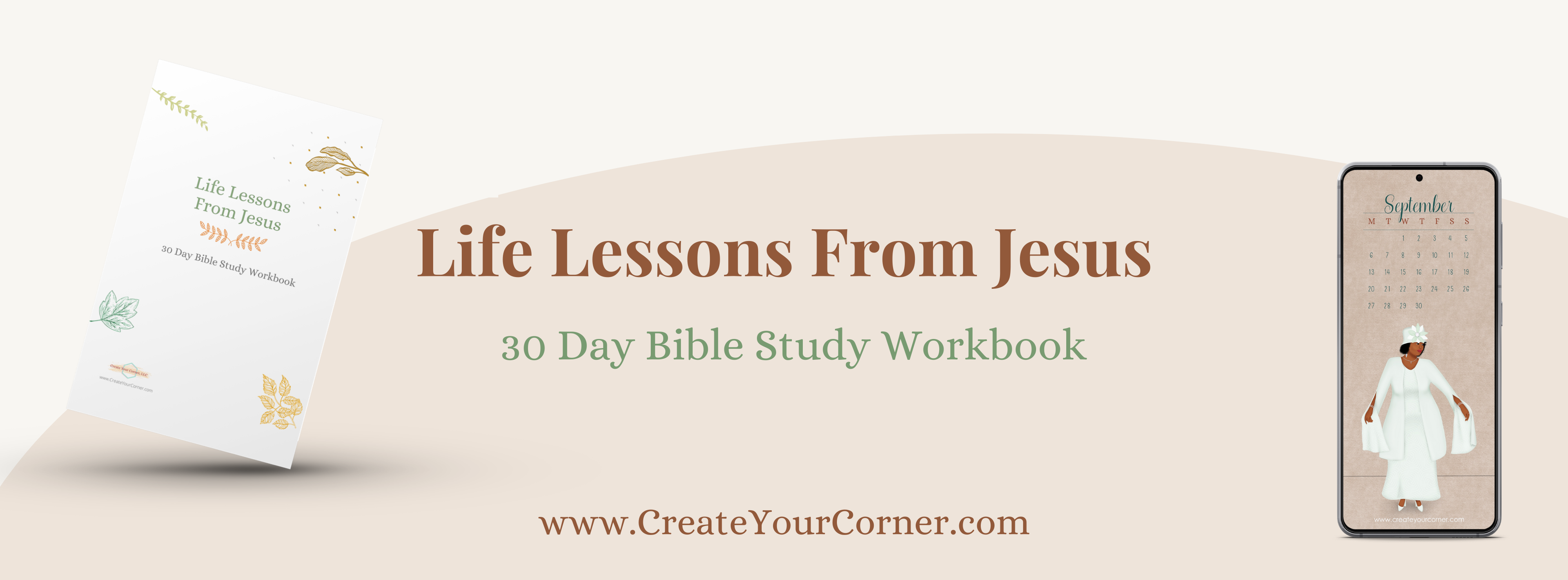 """Wouldn't it be great to be able to sit down and get life lessons from Jesus? To be able to stop in the middle of a situation and say, """"what's the best way to handle this, Lord?"""" and get an answer. Imagine how much you can accomplish!"""